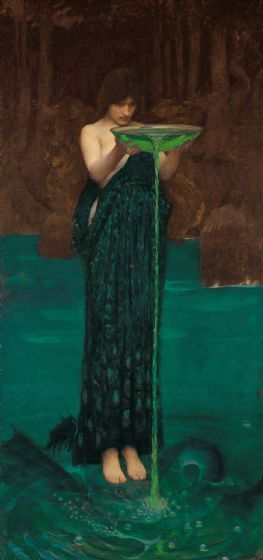 Waterhouse, John William: Circe Invidiosa. Fine Art Print/Poster (004204)